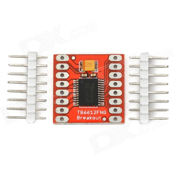 TB6612FNG 1A 2-CH Driving Board Module for Motor - Red