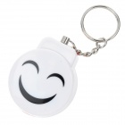 Smile Style Personal Guard Safety Security Siren Alarm - White + Red + Multi-Color