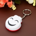 Smile Style Personal Guard Safety Security Siren Alarm - White
