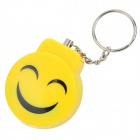 Smile Style Personal Guard Safety Security Siren Alarm - Yellow + Red + Multi-Color