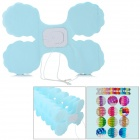 Four Leaf Clover Style Paper Flower Decoration for Wedding / Birthday Party - Light Blue
