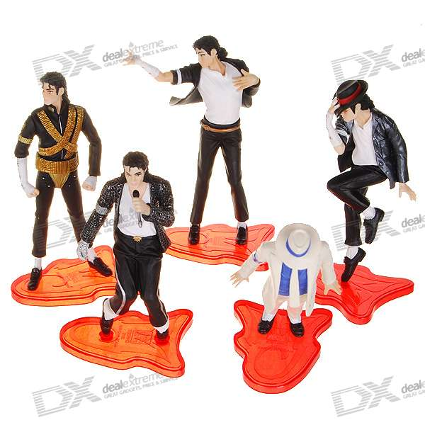 Michael Jackson Display Figures (5-Figure Set)