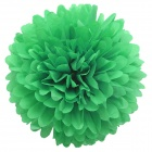 "DIY Stylish Decorative 4"" Paper Peony Flower Decoration for Wedding / Party - Grass Green"