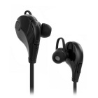 Sports Bluetooth V4.1 In-Ear Stereo Earphone w/ Microphone - Black