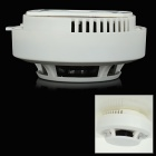 Portable Photoelectric Smoke Fire Detector - White (1 x 6F22)