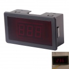 "AC 12V ~ 400V LED rot 0,56 ""Display 2-Leiter 3-Digit-Panel Voltage Meter Voltmeter - Schwarz"
