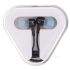 In-Ear Earphones with Microphone for iPhone/3G/3GS - Black
