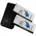 Ismartdigi 2 x 3800mAh 3.85V Batteries + Battery Charger for Samsung Note 4 N910F N910H