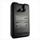 Ismartdigi 2*3800mAh Batteries + Battery Charger for Samsung - Black