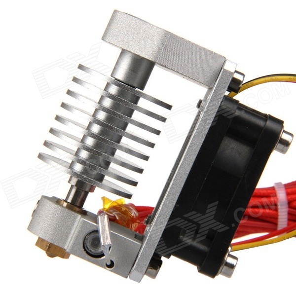 Geeetech E3D Metal J Head V2.0 korte afstand 3D Printer Extruder ( 1.75mm filament-0.4mm Nozzle )