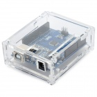 UNO R3 Development Board w/ Acrylic Shell for Arduino - Blue
