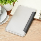 PU + Plastic Stand Auto Sleep Case for Asus MeMo Pad 8 (ME181C) -Black
