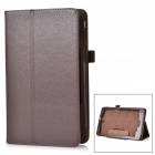Protective Flip-Open PU Leather Case w/ Holder + Auto Sleep for Acer Iconia One 8 (B1-810) - Brown