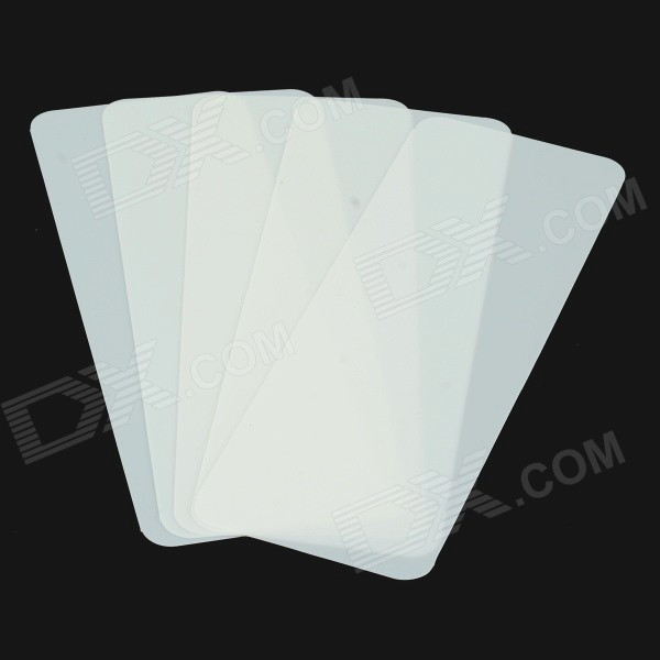 G53CDEAC481B3B Nano Plastic Steel Card Lock Pick Tool - White (5PCS)