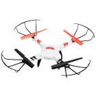 WLtoys DV686 2.4GHz FPV 4-CH R/C Quadcopter w/ Gyro / 2.0MP Camera - White + Red (6 x AA)