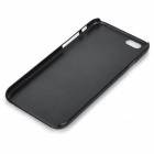 English Lettering Plastic Back Case for IPHONE 6 - Black + Dark Blue