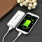 Camera Shutter Remote + 5600mAh Power Bank w/ LED for IPHONE - White