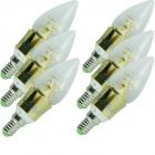 YouOKLight E14 5W 480lm 25-SMD 2835 Warm White Lamp (85~265V / 6PCS)