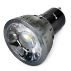 WaLangTing GU10 3W COB LED-Scheinwerfer 250lm 6500K White Light - Schwarz (AC 85 ~ 265V)