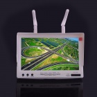 "RC732-DVR 7 ""5.8GHz 32CH HD Diversity Receiver FPV Monitor-Valkoinen"
