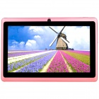 "AVOSD Q88D 7 ""Dual-Core-Android 4.4 Tablet PC w / 4GB ROM, Wi-Fi, Bluetooth, US-Stecker - Rosa"