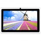 "AVOSD Q88D 7"" Dual-Core Android 4.4 Tablet PC w/ 4GB ROM, Wi-Fi, Bluetooth, US Plug - White"