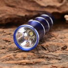 Bamboo Joint Style 30lm Neutral White LED Flashlight - Blue (1 x AA)