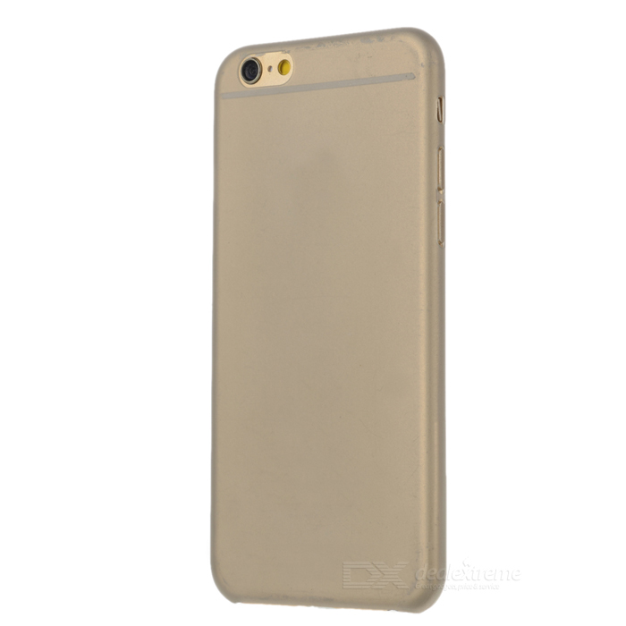 Protective Silicone Back Case Cover for IPHONE 6 - Translucent Grey