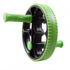 POVIT PE-9251 Fitness Abdominal Muscle Training Equipment Power Roller - Green + Black