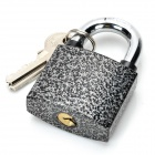 ZH-TZ-04 Padlock Unlocking Practicing Tool + Clamp Set - Silver