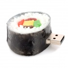 USB-SI Creative Sushi Style USB 2.0 Flash Drive - White + Black (64GB)