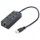 BYL-930H USB 3.0 3-Port Hub w/ Built-in Network Adapter + Switch