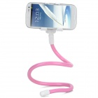 "Flexible Neck Selfie Monopod Mount Holder for 3.5""~6"" Phones - Pink"