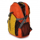 ROSWHEEL Lightweight Foldable Cycling Bag Backpack - Beige + Orange
