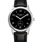 Genuine Bergmann 1963 Classic Men's Watch - Black + Silver