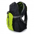 ROSWHEEL Lightweight Foldable Cycling Bag Backpack - Black + Green