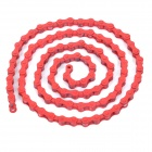Replacement High-Carbon Steel Bike Bicycle Single Speed Chain for Fixed Gear - Red