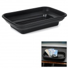 H-Z01 Flexible Silicone Storage Organizer Case for Car - Black