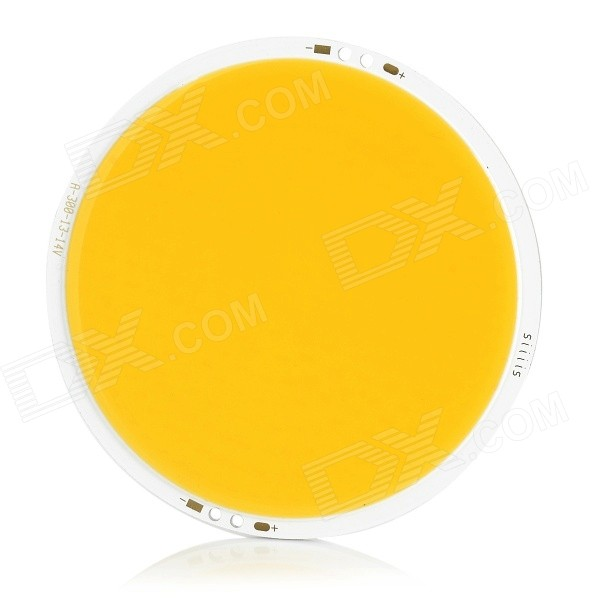 JR-LED 30W COB LED Light Emitter Board Warm White 3200K 4000lm - Yellow (DC 13~14V)