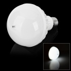 JR-LED E27 15W LED Bulb White Light 6500K 1000lm SMD 5730 - White + Silver (AC 220V)
