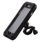 Waterproof Full Case w/ Bike Mount Holder for IPHONE 6 PLUS - Black