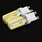 JRLED G9 4W LED Bulb Warm White 350lm 3300K 48-SMD 2835 (2PCS)