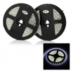 JR-LED 60W LED Strips White Light 6450K 9000lm 300-5050 SMD w/ 3-Key Control (DC 12V / 5m / 2PCS)