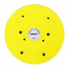 POVIT TR-5203 Magnetic Bodytwister Waist Wriggled Plate Figure Twister Trimmer Foot Massage - Yellow