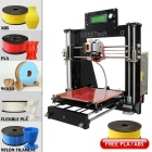 Buy Geeetech I3 3D Printer Kit Support 5-Filament Free PLA - Black