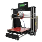 geeetech I3 3D printer kit støtte 5-Filament gratis PLA - svart