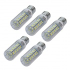 JIAWEN® E27 7W LED Corn Lamp Bulb Cool White Light 800lm (5PCS)