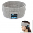 Recarregável flexível Sports Bluetooth Head Head Wide w / Mic - Cinza