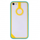 Baseus Protective Plastic Bumper Frame for IPHONE 5C - Yellow + Blue