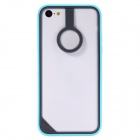 Baseus Protective Plastic Bumper Frame for IPHONE 5C - Light Grey + Blue